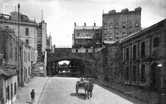 The Argyle Cut at the turn of the 20th Century