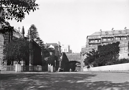 Argyle Cut and Observatory Hill entrance, The Rocks