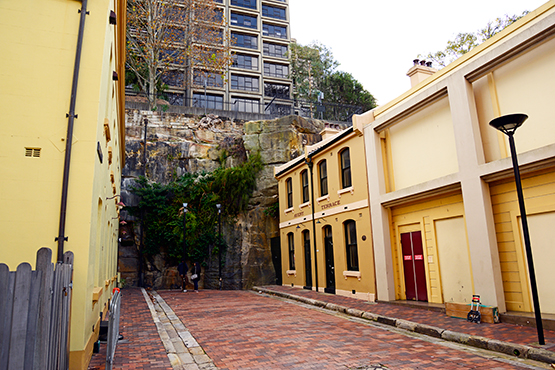 Atherden Street in The Rocks is Sydney's shortest street
