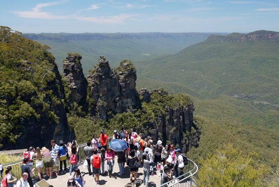 Blue Mountains And Katoomba West Of Sydney NSW