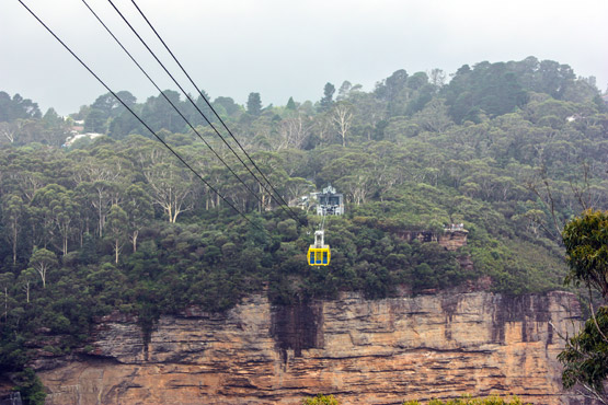 Scenic Skycar at the Blue Mountains, NSW