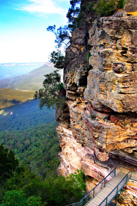 Three Sisters in the Blue Mountains, NSW