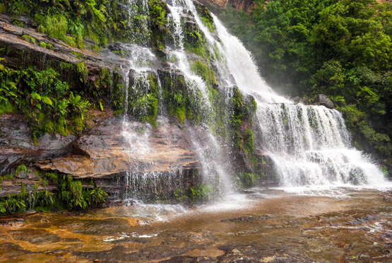 Waterfall in the Blue Mountains, NSW