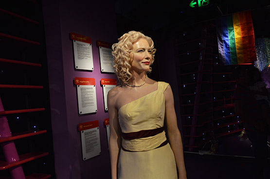 Cate Blanchett at Madame Tussauds in Sydney