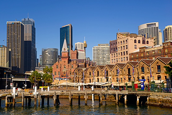Walk from Circular Quay to Barangaroo Reserve and Darling Harbour, Sydney