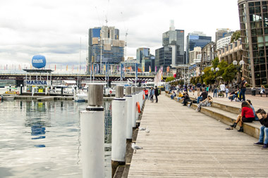 Cockle Bay at Darling Harbour