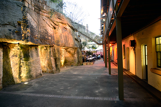 Foundation Park, The Rocks, Sydney