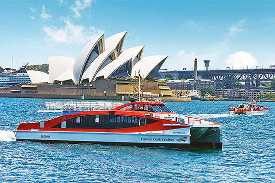 Hop On Hop Off Sydney Harbour Explorer cruise boat