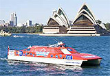 Hop-on, hop-off cruise in Sydney