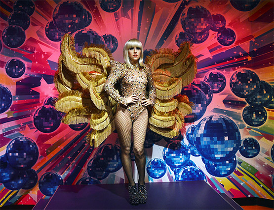 Lady Gaga at Madame Tussauds in Sydney