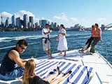 Luxury lunch cruise on Sydney Harbour