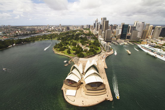 Sydney Opera House at Benelong Point