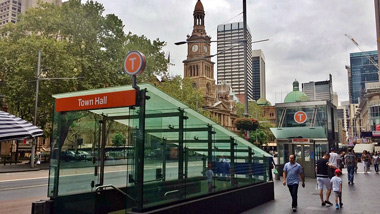 Entrance to Town Hall Station, Sydney
